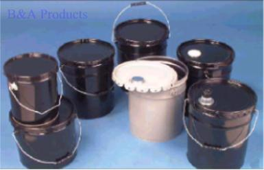 Open headed steel pails
